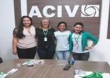 ACIV recebeu a visita da Diretora Comercial do SCPC Boa Vista da Regial norte