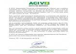 NOTA DE REPÚDIO ACIV: Reajuste de 25,34% sobre a tarifa de Energia Elétrica
