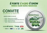 CONVITE RONDÔNIA RURAL SUL