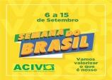 Para fomentar comércio local, Semana no Brasil será realizada entre dias 6 e 15 de setembro