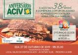 Em comemoração aos seus 38 anos de fundação, ACIV realizará tradicional costelão em outubro