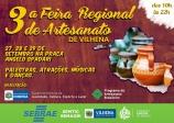 3º Feira de Regional de Artesanato de Vilhena