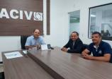 Visita novo gerente do Banco do Brasil