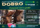 COMEMORAÇÃO AOS 36 ANOS DE ACIV E 18 ANOS DE SICOOB