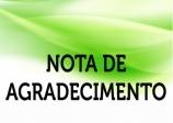 NOTA DE AGRADECIMENTO - 2º PORTAL DO AGRONEGÓCIO