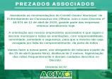 COMUNICADO ACIV 13 DE ABRIL DE 2020