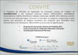 CONVITE - Negociação da Convenção Coletiva de Trabalho da FECOMÉRCIO/RO.