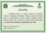 Convite IFRO