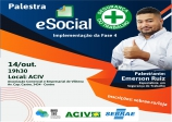 PALESTRA E-SOCIAL!