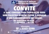 CONVITE REUNIÃO APAC