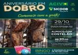 ACIV e Sicoob Credisul se unem novamente para comemoram aniversário