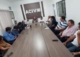 ACIV recebe visita do Superintende do Banco do Brasil e equipe