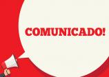 COMUNICADO REFERENTE A DATA EM QUE SE COMEMORA O CARNAVAL