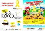 Passeio ciclístico pela vida acontece no sábado e encerra o Movimento Maio Amarelo em Vilhena