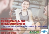 Palestra: EXCELÊNCIA NO ATENDIMENTO - GRATUITA